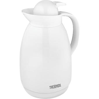 Thermos 34 oz. Glass Vacuum Insulated Carafe - White