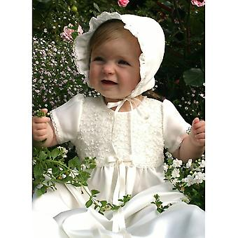 Cute Christening Gown With And Bonnet , Grace Of Sweden Ma.ka.h