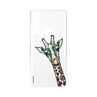 Scafo per Xiaomi Redmi Note 8 Flexible Giraffe Head