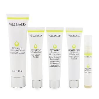 Juice Beauty Brightening Solutions Set: 30 Dagen Discovery Kit voor verhelderen en corrigeren van oneffen skin tone 5pcs