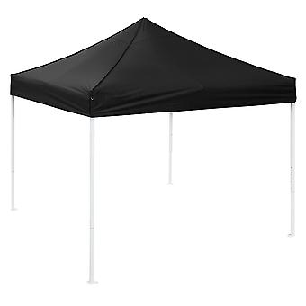 Yescom 10x10 FT Easy Pop Up Canopy Party Wedding Folding Commercial Instant Shelter Sun Shade with Carry Bag Black