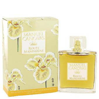 Route Mandarine Eau De Parfum Spray By Manuel Canovas 3.4 oz Eau De Parfum Spray