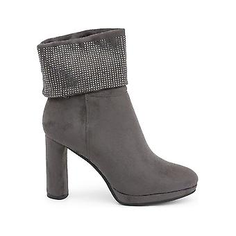 Laura Biagiotti - Shoes - Ankle boots - 5843-19_GREY - Ladies - gray - EU 38