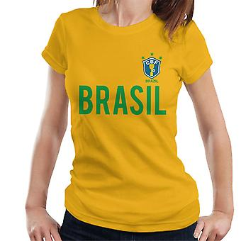 Toff Vintage Football Brasil Women's T-Shirt