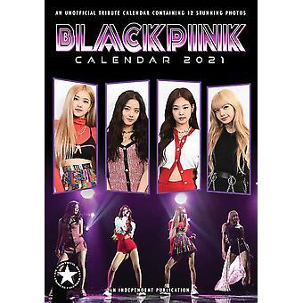 Blackpink Calendar 2021 Tribute Calendar A3, Wall Calendar 2021, 12 Months, original English version.