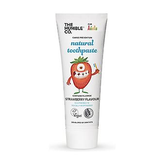 Humble Kids Toothpaste - Strawberry 75ml 75 ml