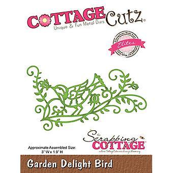Sloop Cottage CottageCutz Garden Delight Bird (Elites) (CCE-107)