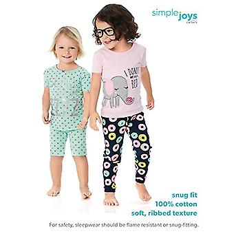 Simple Joys by Carter's Toddler Girls 6-Piece Snug Fit Cotton Pajama Set, She...