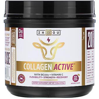 Zhou Nutrition, Collagen Active, Black Berry Cherry, 13.8 oz (378 g)