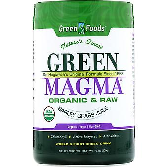 Green Foods, Green Magma, Barley Grass Juice, 10.6 oz (300 g)