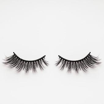 xoBeauty Faux Mink False Lashes - Illusion - Incredible 3D Design and Volume