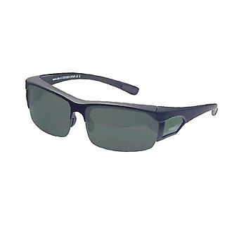 Sunglasses Unisex black with grey lens VZ0008A