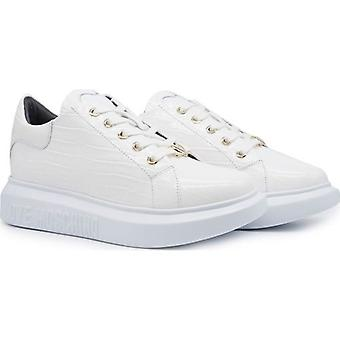 Love Moschino Footwear Chunky Sole Patent Croc Trainers