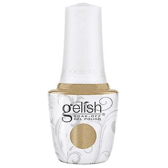 Gelish Champagne & Moonbeams 2019 Winter Gel Polish Collection - Gilded In Gold 15ml ()
