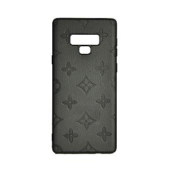 Phone Case Shockproof Cover Monogram GG For Samsung Note 9 (Grey)