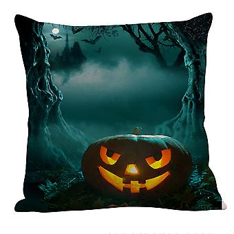 YANGFAN Novel Halloween Pumpkin Printed Pillowcase