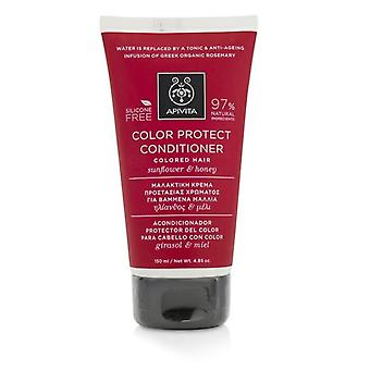 Apivita Color Protect Conditioner with Sunflower & Honey (For Colored Hair) 150ml/5.07oz