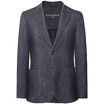 Circolo 1901 Slim Fit Herringbone Jacket