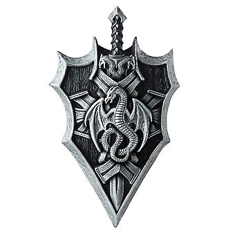 Dragon Lord Warrior Viking Medieval Mens Costume Weapon Shield & Sword