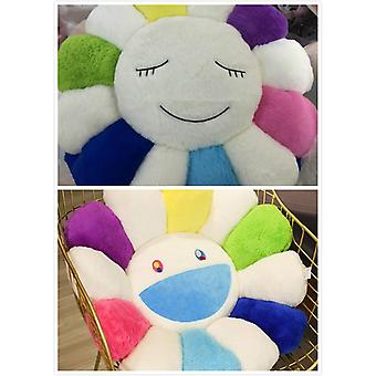 Super Big Peluche Sun Flowers Pillow Soft Toy, Coussin de méditation Mats farcis