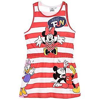 Disney Minnie Mouse meninas verão vestido sem mangas