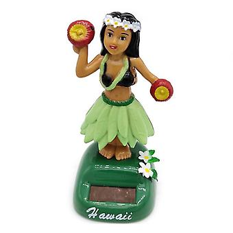 Solar Powered Dancing Hula Girl Swinging Bobble Toy Gift For Car Decoration - Novelty Happy Dancing Solar Girls Toys For Children