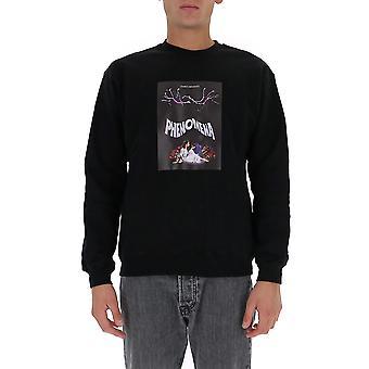 Msgm 2940mm20920759999 Mænd's Sort Bomuld Sweatshirt