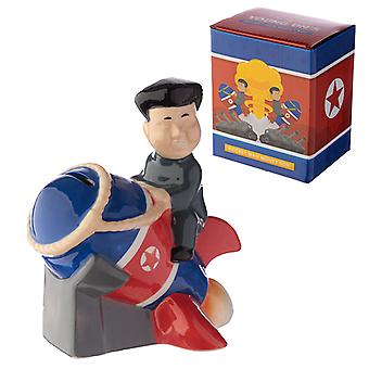 Collectable Ceramic Rocket Man Money Box X 1 Pack