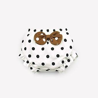 Toddler Underwear Cotton Baby Panties Infant Cute Big Bow Dots Shorts