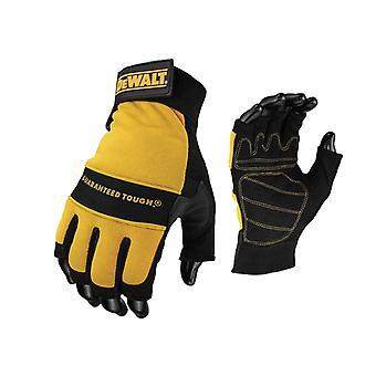 DEWALT 1/2 Synthetic Padded Leather Palm Gloves DEWPERFORM4