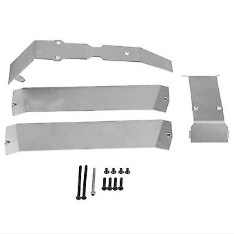 Stainless Steel Big E E-Revo Chassis Armor Bottom Protection voor Traxxas
