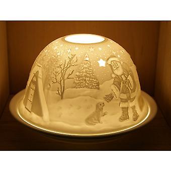 Nordic Lights Candela Ombra & Piastra - Natale San Nicola