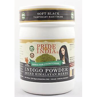 Herbal Hair Color Powder W/ Gloves - Soft Black