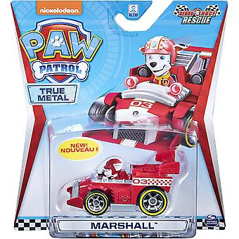 Paw Patrol - True Metal Ready Race Rescue Vehicle (One at Random)