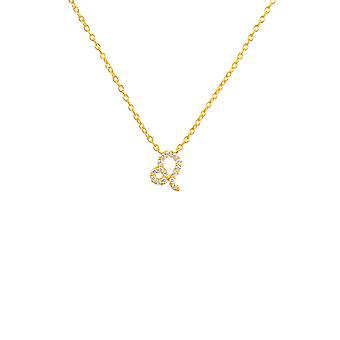 Diamant anheng halskjede diamant gemstone Leo Zodiac Horoskop juli august