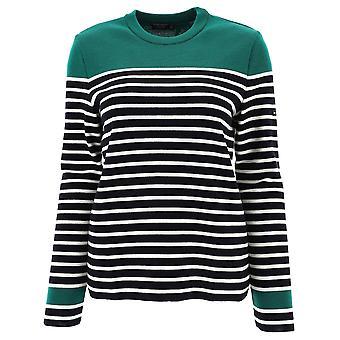 Saint James 6518u Women's Multicolor Wool Sweater