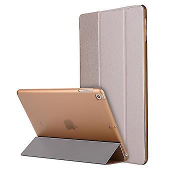 Case Ultra-thin smart folio case for Apple iPad 2017/2018/Air/Air2 Golden