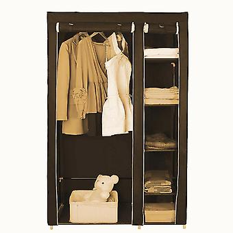 Cloth Wardrobe Furniture Storage Cabinet Fabric Closet Folding Non-woven
