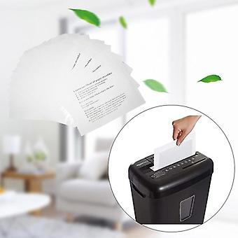 12pcs Paper Shredder Lubricant Sheets Shredder Lubricating Oil Portable Paper