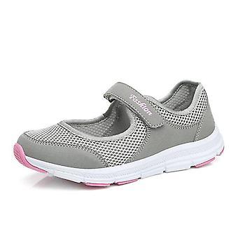 נשים נעלי ספורט נעליים יום יומי, נקבה, רשת קיץ, נושם, נעלי ספורט