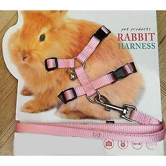 Haustier Kaninchen, weiche Sharness-verstellbare Seil zum Laufen und Gehen