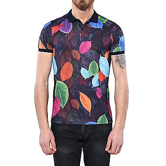 T-shirt polo stampata multicolore | wessi