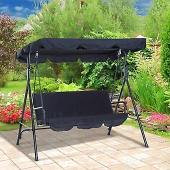 Canopy And Seat Cover Set For 3 Seater Swing