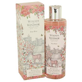 True Rose Shower Gel By Woods Of Windsor 8.4 oz Shower Gel