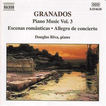 E. Granados - Granados: Piano Music, Vol. 3 [CD] USA import