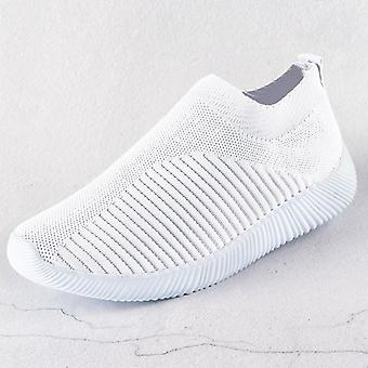 Fashion Casual Sneakers Summer Knitted Vulcanized Shoes Trainers