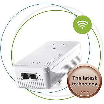 Devolo magic 1-1200 wi-fi ac: stable home working, high performance add-on powerline adapter, mesh w