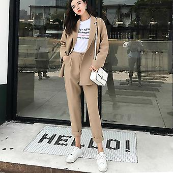 Casual Solid Women Pant Suits