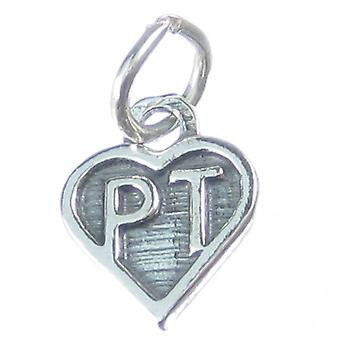 Physical Therapy Sterling Silver Charm .925 X 1 Pt Charms - 4058