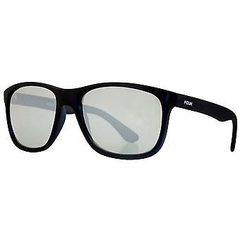 Franska Anslutning Slim Square Sport solglasögon - Matt svart